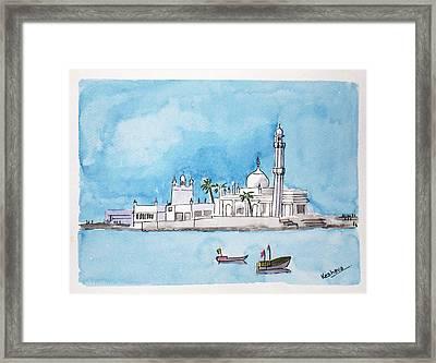 Haji Ali Mumbai Framed Print