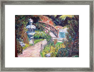 Hakone Framed Print by Carolyn Donnell