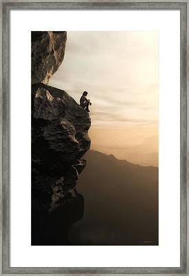 Halcyon Framed Print by Cynthia Decker