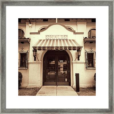 Framed Print featuring the photograph Hale by Stephen Stookey