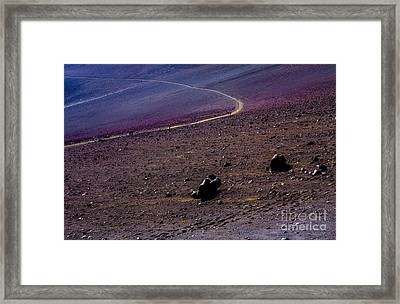 Framed Print featuring the photograph Haleakala 2 by M G Whittingham