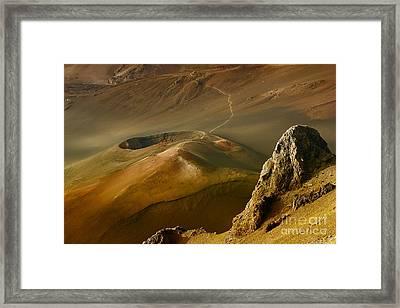 Haleakala Caldera Framed Print