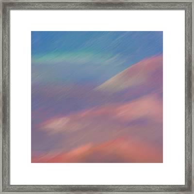 Haleakala Impressions Framed Print