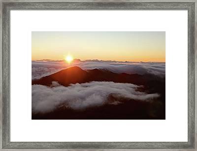 Haleakala Framed Print