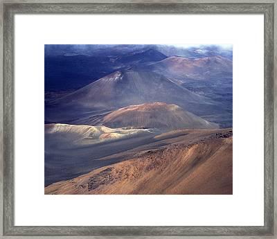 Haleakala, Maui I Framed Print