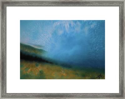 Haleakala Mist Framed Print by Robin Street-Morris