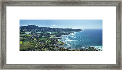 Haleiwa Country Framed Print by Sean Davey