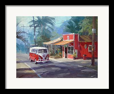 Haleiwa Framed Prints