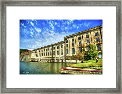 Hales Bar Dam Tennessee Valley Authority Tennessee River Art Framed Print
