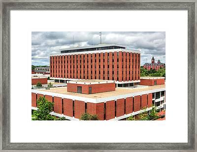 Haley Center At Auburn University  Framed Print by JC Findley