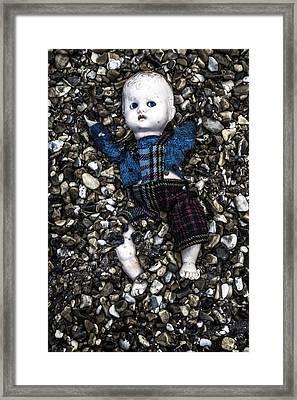 Half Buried Doll Framed Print by Joana Kruse