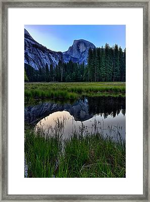 Half Dome At Sunrise Framed Print by Rick Berk