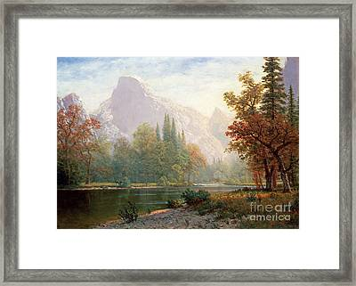 Half Dome Framed Print by Celestial Images