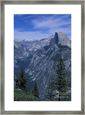 Half Dome From Washburn Point Framed Print by Stan and Anne Foster