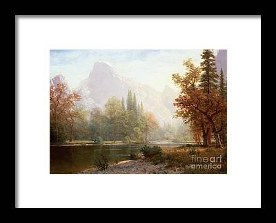 Yosemite Half Dome Framed Prints