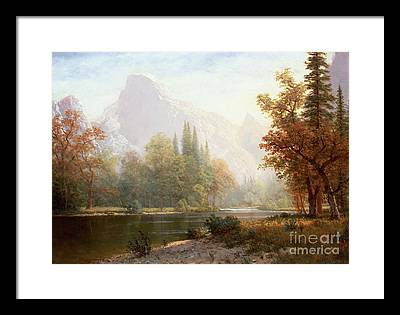 Half Dome Framed Prints