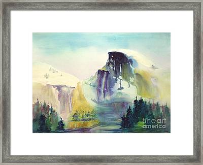 Half Dome Yosemite Framed Print by Maryann Schigur