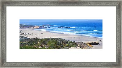 Half Moon Bay Framed Print