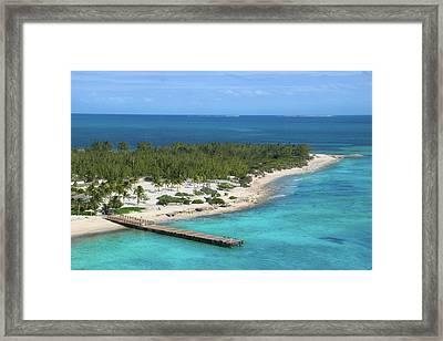 Half Moon Cay Framed Print by Debra Farrey