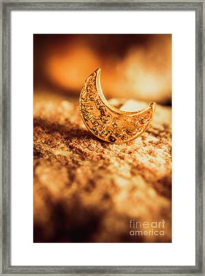 Half Moon Crescent. Bedtime Scene Framed Print by Jorgo Photography - Wall Art Gallery