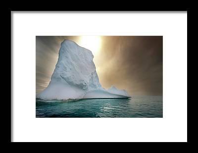 Ice Storm Framed Prints