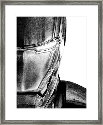 Half Of The Iron Framed Print
