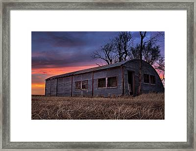 Half Round Framed Print by Thomas Zimmerman