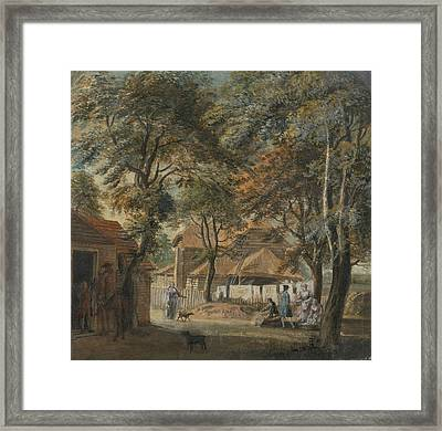 Halfway House, Sadler's Wells Framed Print by Paul Sandby