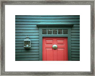 Framed Print featuring the photograph Halfway by Kenneth Campbell