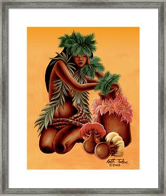Hali'a    Framed Print by Keith Tucker