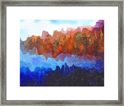 Haliburton Highlands Framed Print