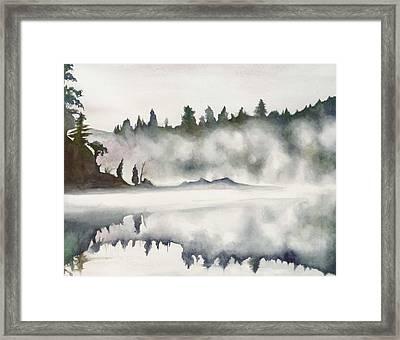 Haliburton Morning Framed Print