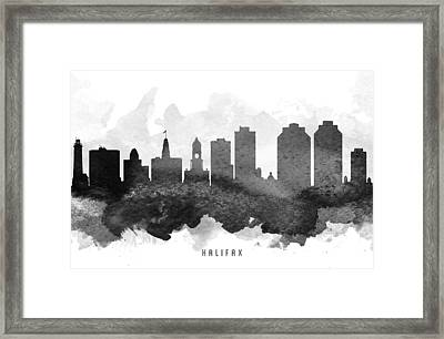 Halifax Cityscape 11 Framed Print