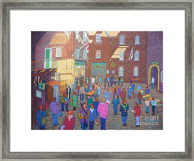 Halifax Farm Market Framed Print