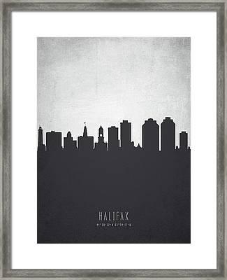 Halifax Nova Scotia Cityscape 19 Framed Print