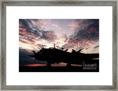 Halifax Silhouette Framed Print by J Biggadike