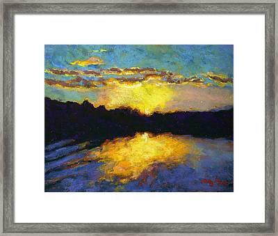 Halifax Sunrise II Framed Print by Hillary Gross