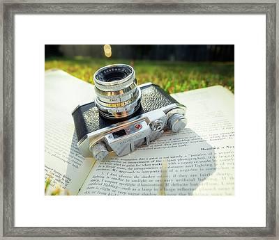 Halina 35x Rangefinder Camera Framed Print by Jon Woodhams