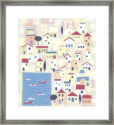 Halki Framed Print by Nic Squirrell