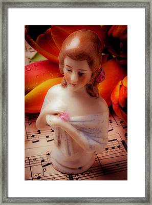 Hall Doll Framed Print