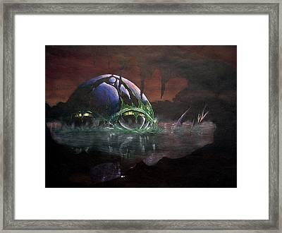 Hall Of Doom Framed Print
