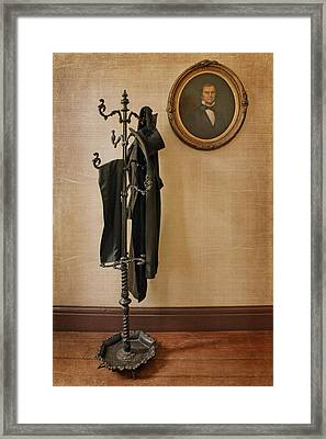 Hall Tree - Still Life Framed Print