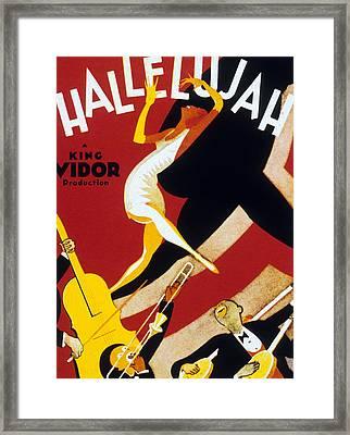 Hallelujah Framed Print by American School