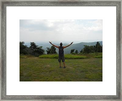 Framed Print featuring the photograph Hallelujah   Hallelujah by Diannah Lynch