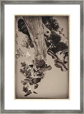 Hallelujah Junction Hanging Soul Tree Framed Print by LeeAnn McLaneGoetz McLaneGoetzStudioLLCcom