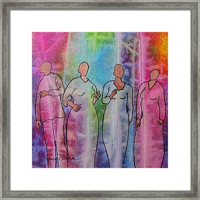 Hallelujah Framed Print by Laura Nance