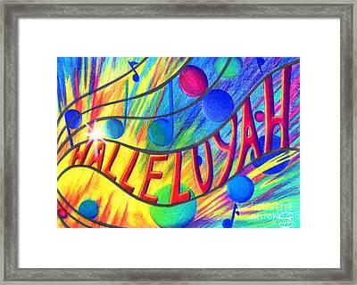 Halleluyah Framed Print