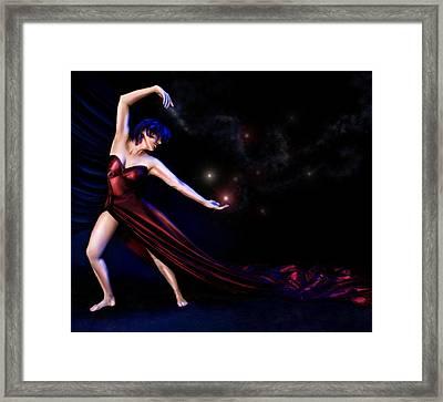 Halley Framed Print