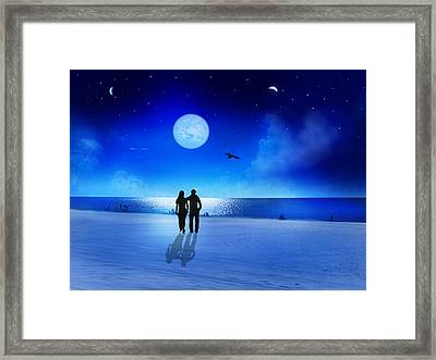 Night Blessings Framed Print