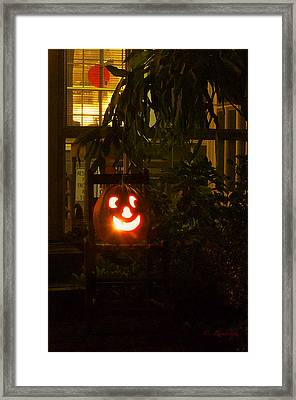 Halloween Beacon Framed Print